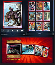 SPLASH! SERIES 2 MOTION-10 CARD SET-SUPER RARE-TOPPS MARVEL COLLECT DIGITAL