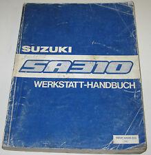 Werkstatthandbuch Suzuki Swift SA 310 / SA310 Typ AA Baujahr 1983 - 1989!
