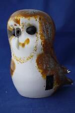 Langham vetro fatti a mano Crystal medium BARN OWL-Nuovo / boxed