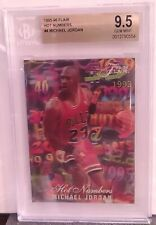 Michael Jordan 1995-96 Flair Hot Numbers #4 BGS 9.5 Gem Mint