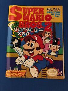 Super Mario Bros. 2 Inside Out..Nintendo Power Tip Book