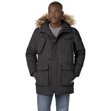Men's Rocawear Hooded Parka Black 3XL #NJG1N-525