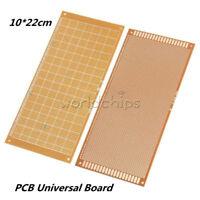 1/2/5/10PCS Prototype Paper Single Side PCB Universal Board 10*22 cm 10x22cm DIY