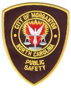 USA Patch North Carolina Police -City of Morganton Public Safety, Stoff I/II