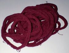 Harrisville Designs Traditional Potholder Loops Quantity of 20 Color Burgundy
