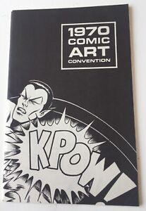 1970 New York Comic Art Convention Program