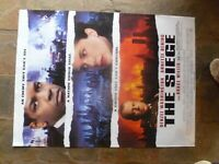 THE SIEGE  1  SHEET MOVIE POSTER  VIDEO