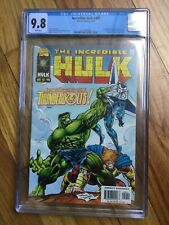 Incredible Hulk #449 CGC 9.8 White Pages - 1st Appearance of Thunderbolts HOT