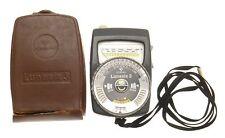 Lunasix 3 System Camera Light Exposure Meter GOSSEN Luna Pro S in Original Case