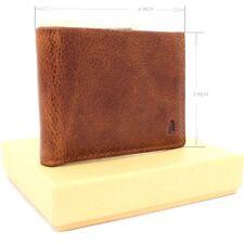 Genuine real Leather wallet handmade 6 credit cards slots slim full grain soft