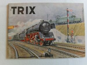 Trix Express catalogue.  No date on cover, but it is 1952, clean,odourless,super