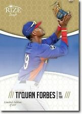 TI'QUAN FORBES 2014 Rize Draft GOLD *Limited Edition* RC - Only 200 Made!
