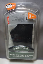 Uncle Mikes Inside Pant Holster with Strap SZ 5 LH #818535
