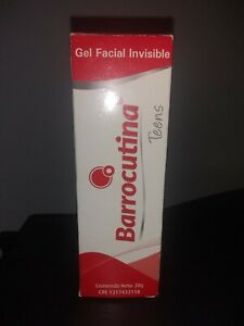 NEW Barrocutia Acne gel facial salicylic acid medication 20gr