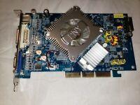PNY Nvidia Geforce 6600 AGP 256MB graphics card, AGP 3.3V compatible