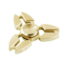 Fidget Hand Spinner DIY Hexagon Metal Brass Desk Toy EDC ADHD Autism KIDS ADULT