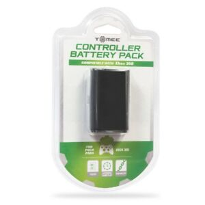 Tomee Rechargeable Controller Battery Pack for Xbox 360 - Black