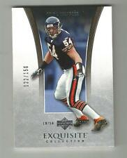 2005 Upper Deck Exquisite Collection Brian Urlacher #7 122/150