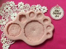Flower center silicone mold fondant cake decorating food soap cupcake topper FDA