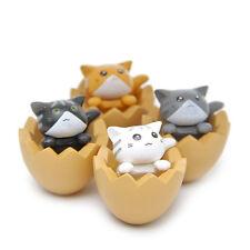 1PC Cute Mini Resin Cat Egg Fairy Garden Ornaments Micro Landscape Decor