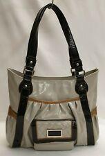 WALLIS Ladies Womens Bag handbag Large Beige Brown Black Patent Shoulder Bag