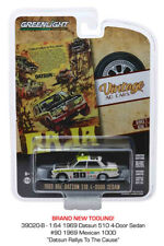 Greenlight Datsun 510 4-Door Sedan 69 Mexican 1000 Vantage Ad 39020 1/64