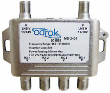 2 x 4 Satellite Multiswitch suitable for VAST Foxtel - Free Express Post in AUS