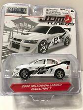 JADA TOYS JDM Tuners 2002 Mitsubishi Lancer Evolution 7 Die Cast Metals