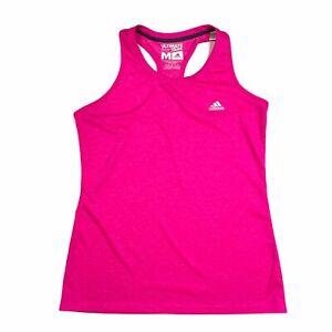 Adidas Ultimate Tank Top Womens M Pink Racerback Running Yoga