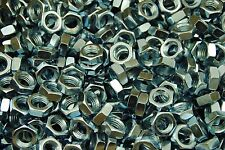 (150) Hex Jam Nut 5/8-11 Thread - Zinc Plated - Thin Nuts