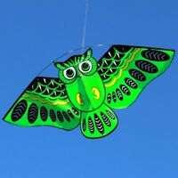 Cartoon Owl Flying Kites For Children Adult Outdoor Fun Sports Toy New