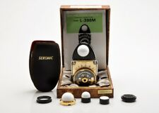 Sekonic Gold L398M Collectors light-meter set, limited edition in box