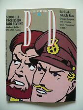 Magazine (très bel état) - Les cahiers de la bande dessinée 84 (Jacobs)