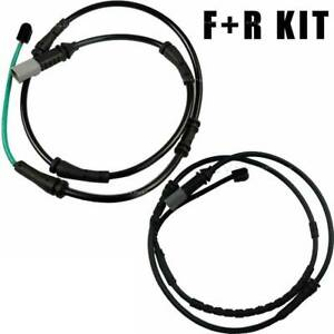 For BMW F10 528 535 New Set of 2 Brake Pad Wear Sensor Kit Front+Rear