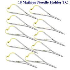 Porta agujas Ortodoncia X 10 Mathieu Needle Holder Dental surgical Forceps Set