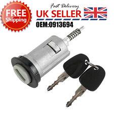 UK 2 Key Ignition Barrel For VAUXHALL Astra Corsa Zafira Meriva Tigra Combo