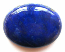 12x10mm OVAL CABOCHON-CUT ROYAL-BLUE NATURAL CHINESE LAPIS LAZULI GEMSTONE