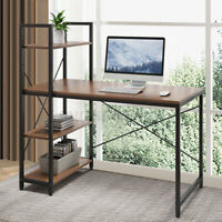 Gaming Computer DeskCorner PC Laptop Table Study Workstation Home Office Shelf