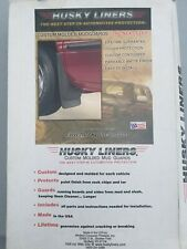Husky Liners 2004 Chevy/GMC/Colorado/Canyon without flares FRONT MUD GUARD SET