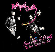 ~NEW~From Here to Eternity: The Live Box Set [Box] by New York Dolls (3 CD 2006)