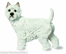 Westie Dog Garden Ornament - Standing - Pup - Puppy - TC161 -  Resin