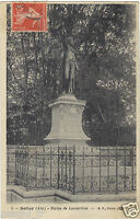 01 - cpa - BELLEY - Statue de Lamartine