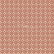 Lost & Found Red Round by Jen Allyson for Riley Blake, 1/2 yard cotton fabric