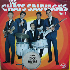 "Vinyle 33T Les Chats Sauvages (Dick Rivers)  ""Vol.2"""
