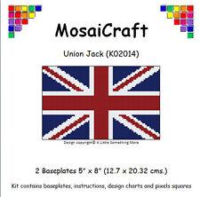 MosaiCraft Pixel Craft Mosaic Art Kit 'Union Jack' Pixelhobby