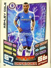 Match Attax 2012/13 Premier League - #040 Ashley Cole - Chelsea