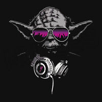 Yoda DJ Jedi Master Hip Hop Music Headphones Men Ladies Kids T-Shirt Vests S-3XL