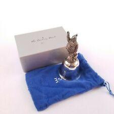 The Danbury Mint 1978 Silver Plated Christmas Santa Bell Original Box