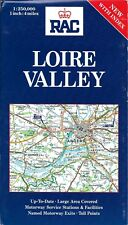 RAC France Map # 4 -  Loire Valley, France, by RAC Publishing