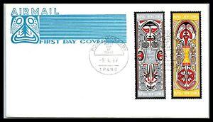 1969 PAPUA NEW GUINEA FDC Cover - Folklore - Elema Art, Port Moresby R2